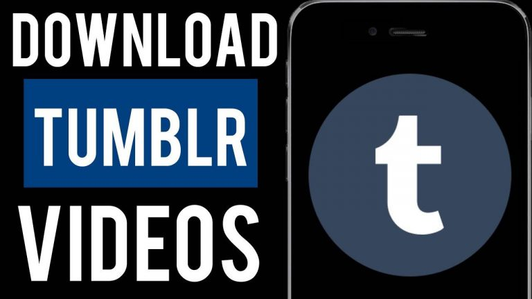 How to Download Videos From Tumblr? (2020)