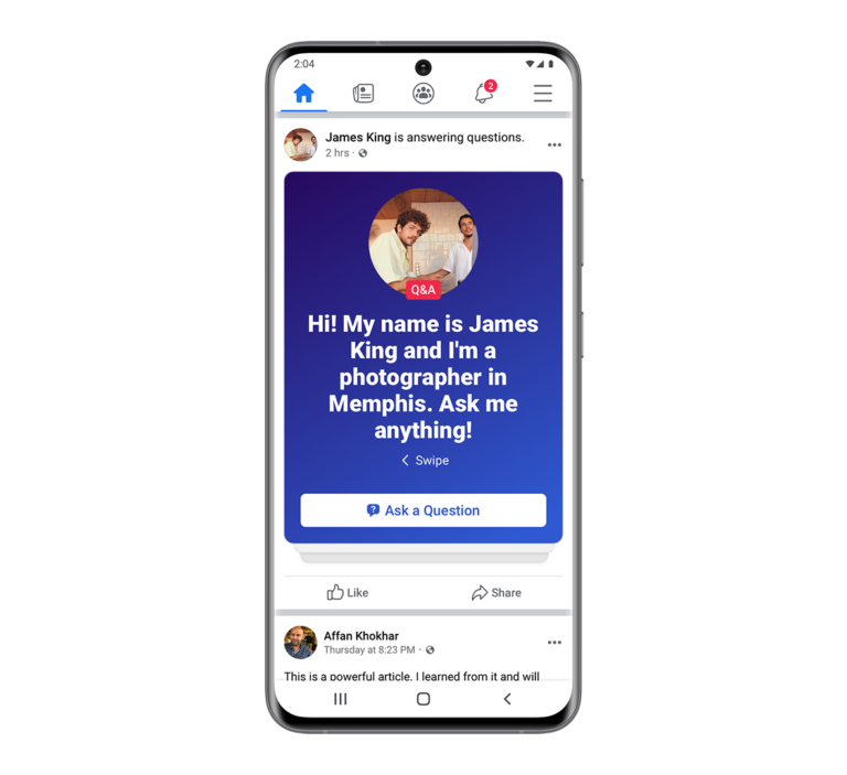 Facebook adds public group discussions to the news feed