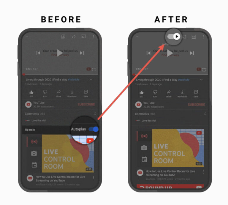 YouTube improves the mobile experience with 5 updates